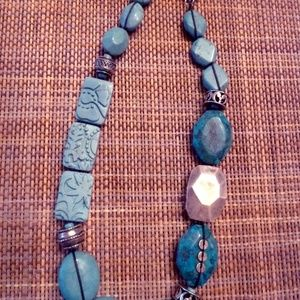 Silpada Turquoise and Sterling silver necklace